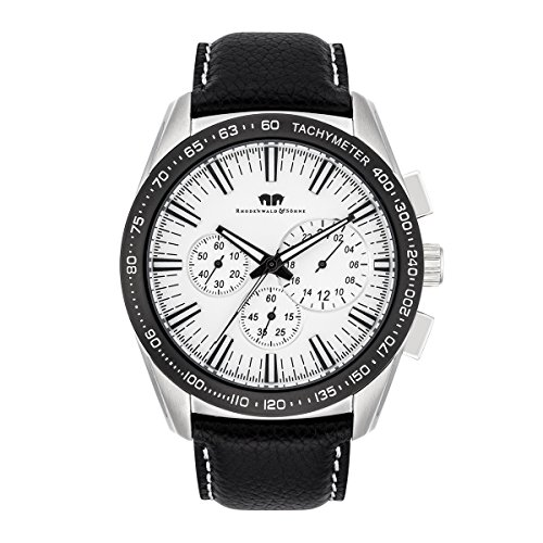 Rhodenwald & Söhne - Kitano Montre homme Chronographe SS/BLK 5 ATM - 10010262