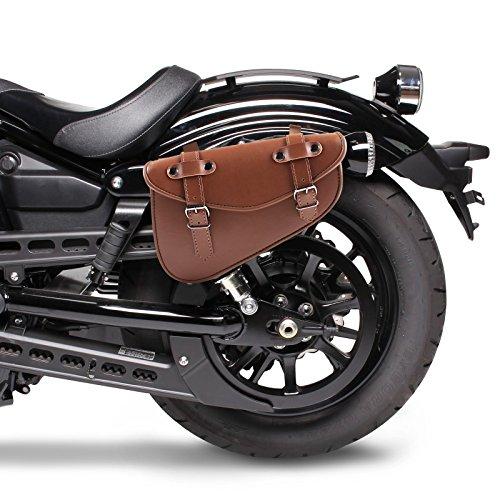 Alforja Sola Moto Honda Rebel CMX 500 Craftride Arizona I 3l Marrón