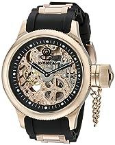 Invicta Herren-Armbanduhr XL Analog Handaufzug Kautschuk 1090