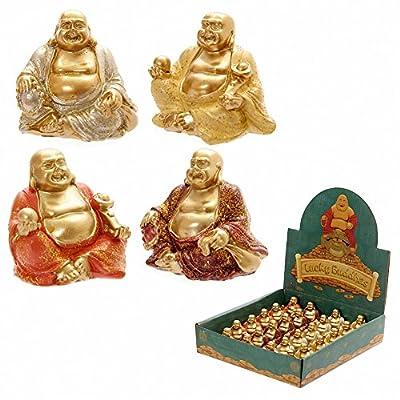 Mini Glitter Lucky Buddha Collectable