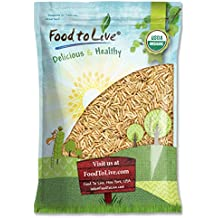 Food to Live Arroz basmati integral Bio certificado (Eco, Ecológico, crudo, sin