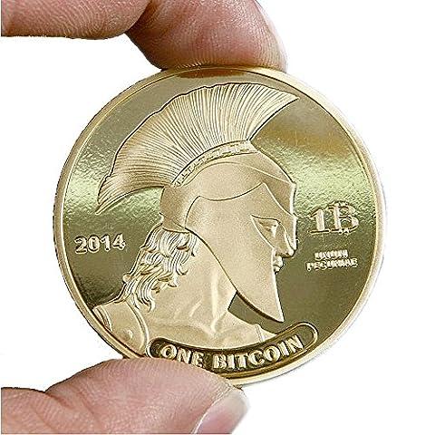 GoDUB BITCOIN Römer Münze - Medaille - Sammlermünze 1 oz/unze