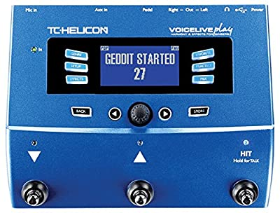 TC HELICON VoiceLive Play Harmony and Effects for Singers