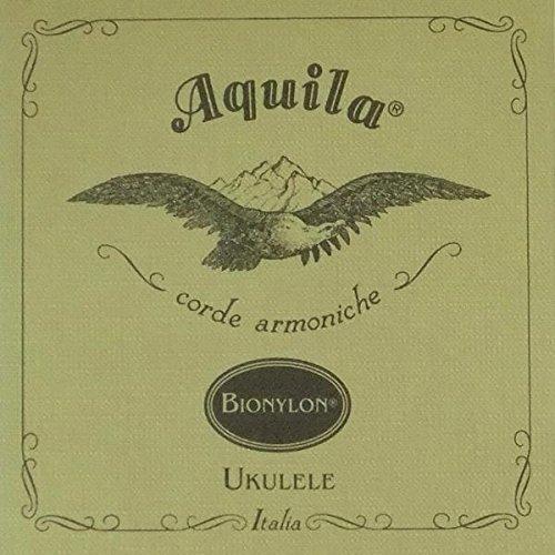 Aquila AQ U BN 65U bionylon Set (Ukulele GCEA, tenore Low G, Wound)