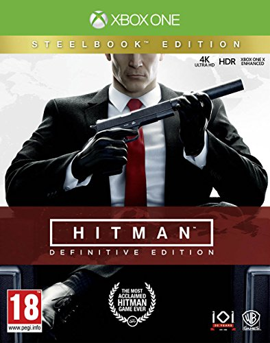 Hitman Definitive Steelcase Edition (Xbox One) Best Price and Cheapest