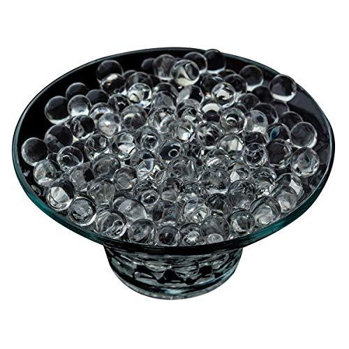 074a45cca Gel Soil Perlas de agua transparentes para flores de gel orgánico, 10  paquetes