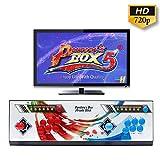 WISAMIC Real Pandora's Box 5 Spielkonsole Home Arcade Konsole Arcade Joystick Spiele Game, 1280x720 Full HD, Unterstützt PS3,Keine Spiele enthalten (6 Knöpfe)