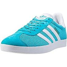 buy popular 1a48d 9a6db ADIDAS Gazelle Sneakers Lacci Adulto Tessuto ENEBLU Azzurro BB2761 Estate  2017