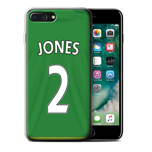 Offiziell Sunderland AFC Hülle / Gel TPU Case für Apple iPhone 7 Plus / Watmore Muster / SAFC Trikot Away 15/16 Kollektion Jones