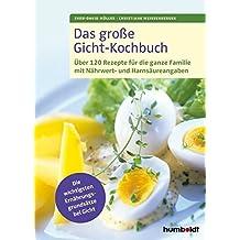 Das große Gicht-Kochbuch: Über 120 Rezepte für die ganze Familie mit Nährwert- und Harnsäureangaben, Die wichtigsten Ernährungsgrundsätze bei Gicht