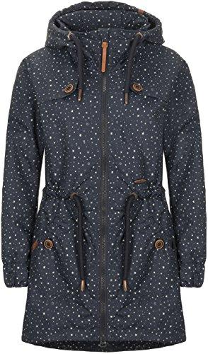 alife & kickin Charlotte A Coat Damen Übergangsjacke, Marine Stars, L