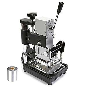 ITEMPLAZZA 300W Hot Foil Stamping Machine Machine de marquage à chaud Excellente pression gaufrage bronzante Benne impression avec un papier Foil gratuit