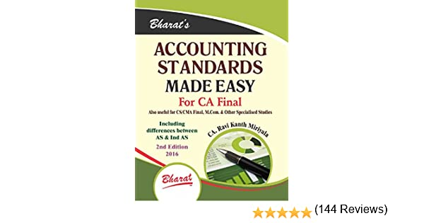 best book for ca final accounts