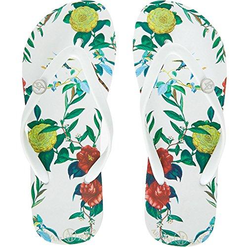 Armani Jeans - Sandalias de Sintético para Mujer Blanco Blanco, Color Blanco, Talla 39 EU