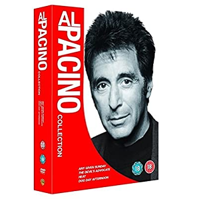 Al Pacino Collection (Any Given Sunday / The Devil's Advocate / Heat / Dog Day Afternoon) [DVD] [2012] by Oliver Stone