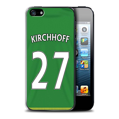 Offiziell Sunderland AFC Hülle / Case für Apple iPhone SE / Pack 24pcs Muster / SAFC Trikot Away 15/16 Kollektion Kirchhoff