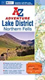 Lake District (Northern Fells) Adventure Atlas (A-Z Adventure Atlas)