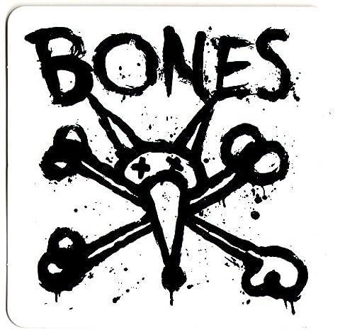 Bones Autocollant-Roues de Skateboard Vato Op-Carré-sk8 10 cm-Neuf
