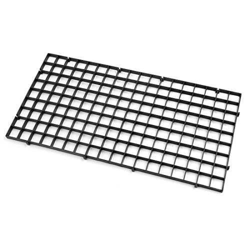 "sourcing map 4Stk Betta Aquarium Schwarz Kunststoff Trennteiler Isolation Board 11,8"""" x 5,9"""" DE"