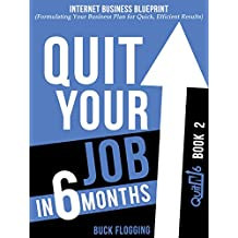 Quit Your Job in 6 Months: Book 2: Internet Business Blueprint (Formulating Your Business Plan for Quick, Efficient Results) (English Edition)