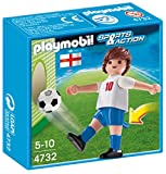 Playmobil 4732 Sports and Action Soccer Player - White, England