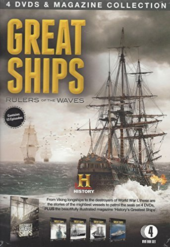 Wave-magazin (Great Ships: Rulers of the Waves - 4 DVD & Magazine Collection)