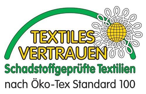 Farbenfrohes Jersey Spannbettlaken Spannbetttuch Bettlaken aus hautsympathischer 100% Baumwolle (120 x 200 cm, Weiß) - 3