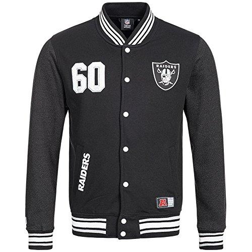 Majestic Athletic College giacca da uomo, nero, S