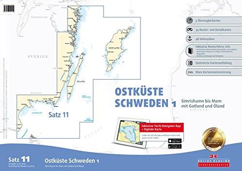 Satz 11: Ostküste Schweden 1 (Ausgabe 2015): Alle Infos bei Amazon