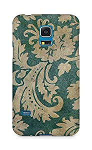 Amez designer printed 3d premium high quality back case cover for Samsung Galaxy S5 Mini (Vintage Pattern)