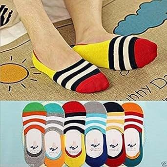 Delhi Traderss Unisex Loafer Socks For Men And Women (6 Pairs)