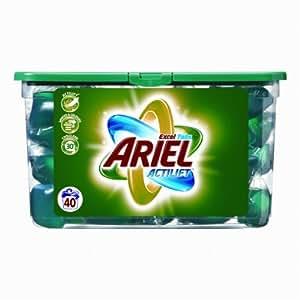 Ariel - Lessive Liquide - Eco-Doses Régulier - 40 Doses