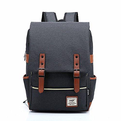 crazysell-casuale-tela-zaini-vintage-zaino-uomo-donna-unisex-canvas-backpack-trekking-viaggio-rucksa