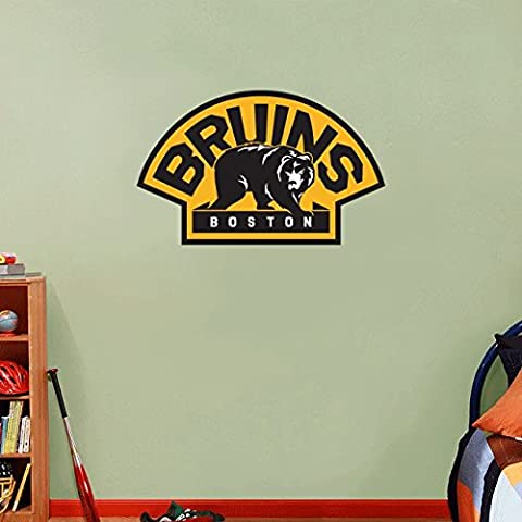Boston Bruins NHL Hockey Home Decor Art Wall Vinyl Sticker 63 x 38 cm