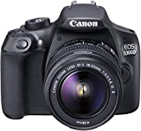 Canon EOS 1300D Digitale Spiegelreflexkamera (18 Megapixel, APS-C CMOS-Sensor, WLAN mit NFC, Full-HD) für Canon EOS 1300D Digitale Spiegelreflexkamera (18 Megapixel, APS-C CMOS-Sensor, WLAN mit NFC, Full-HD)