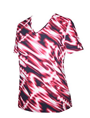 Cameron-damen T-shirt (Schneider Sportswear CAMERON-Shirt cranberry - 40)