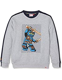 Lego Wear Boy Ninjago Saxton 101-Sweatshirt, Sweat-Shirt Garçon