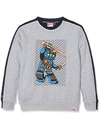 Lego Wear Boy Ninjago Saxton 101-Sweatshirt, Sweat-Shirt Garçon