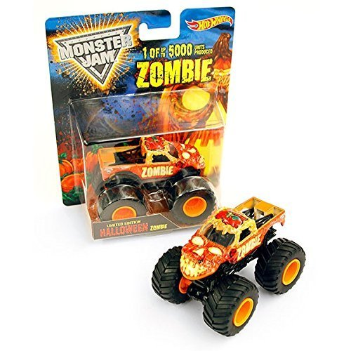 1:64 Hot Wheels Zombie Halloween Die Cast Truck 1 of 5000 by Hot Wheels