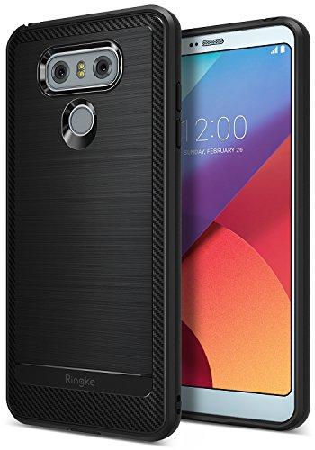 Custodia LG G6, Ringke [Onyx] [Forza Resistente] Durevolezza Flessibile, Durevole