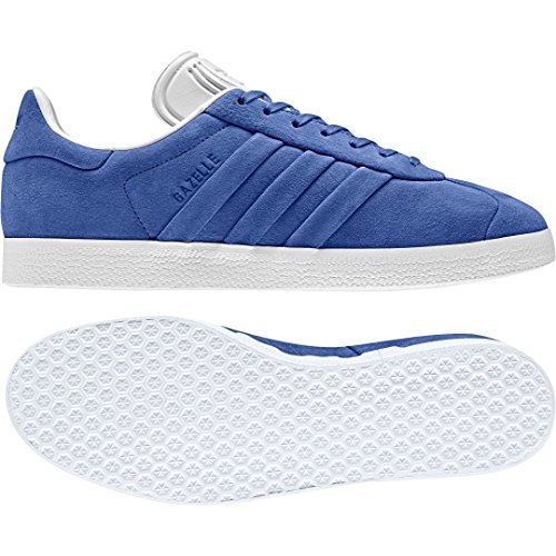 adidas Gazelle Stitch and Turn, Baskets Homme Bleu (Collegiate Royal/collegiate Royal/ftwr White)