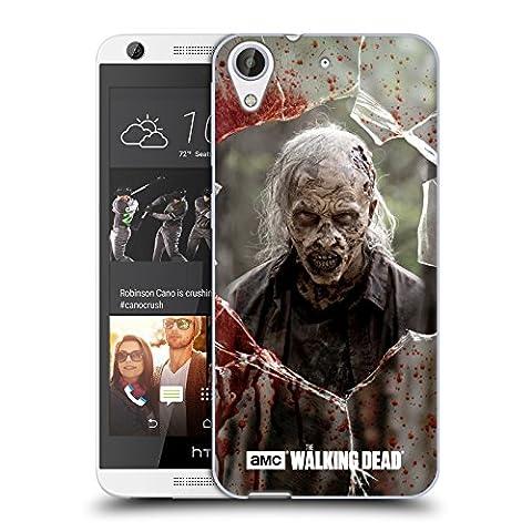 Officiel AMC The Walking Dead Fâché Marcheurs Étui Coque en Gel molle pour HTC Desire 626