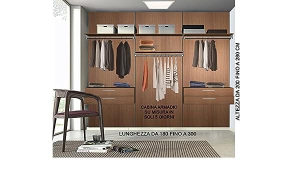 Cabina Armadio Fai Da Te Misure : Cabina armadio su misura completa di tutti accessori guardaroba
