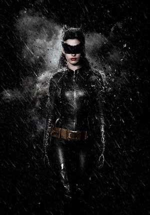 The Dark Knight Rises - Catwoman - U.S Textless Movie Wall Poster Print - 43cm x 61cm / 17 Inches x 24 Inches A2 Batman (Knight Rises Auf The Catwoman, Die Dark)
