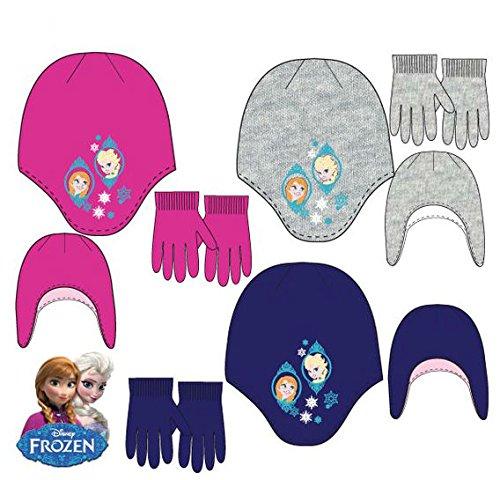 Disney frozen, cappellopello bambina, blu (blue), small