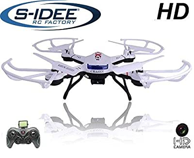 s Great for 01502 Quadcopter S181 °C HD Camera 4.5 Channel 2.4 GHz Drone with Gyroscope Technology