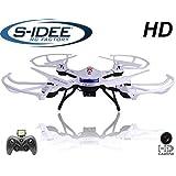 s-idee® 01502 Quadrocopter S181C HD Kamera 4.5 Kanal 2.4 Ghz Drohne mit Gyroscope Technik