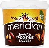 Meridian Smooth Peanut Butter - 100% Nuts, 1kg