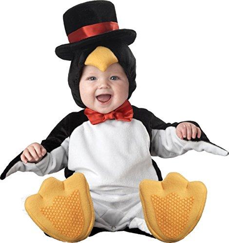Fancy Me Deluxe Baby Jungen Mädchen Kleiner penguini Weihnachten Tier Charakter Halloween Kostüm Kleid Outfit - Schwarz/weiß, 18-24 Months, - Pinguin Deluxe Kind Kostüm
