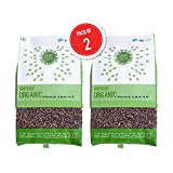 #9: Dear Earth Organic Finger Millet [Ragi] Whole 500 GMS, pack of two